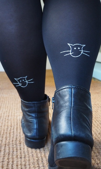 Cat Tights - Frocks & Frou Frou