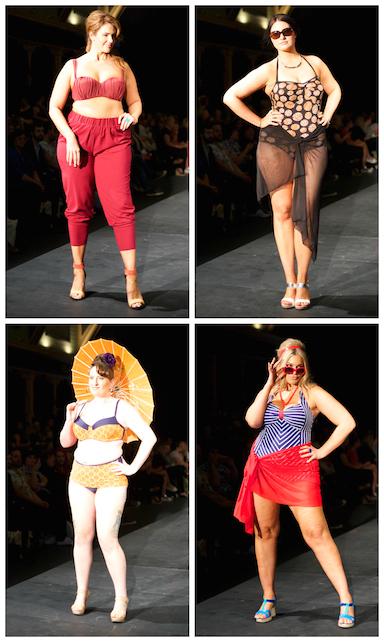 Robyn Lawley and Beyond the Sea Swimwear