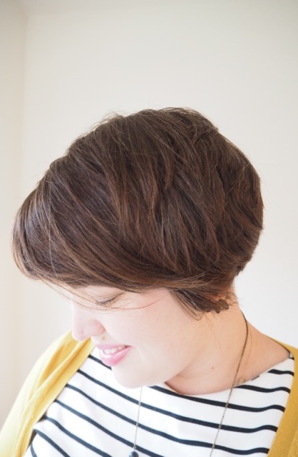 Cropped Haircut - frocks and frou frou