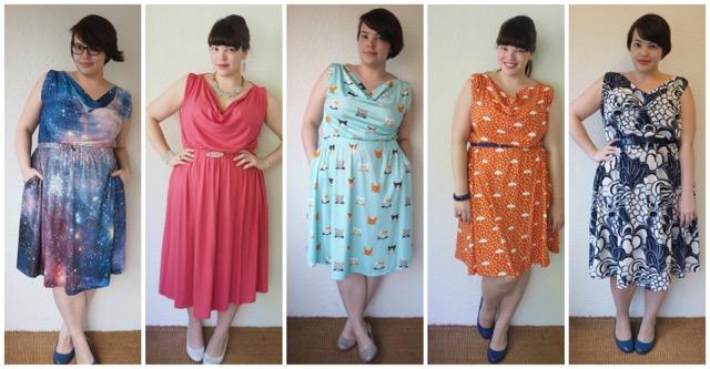 Frocks and Frou Frou - Myrtle Dress 5 ways